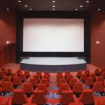 特別なシートのある映画館